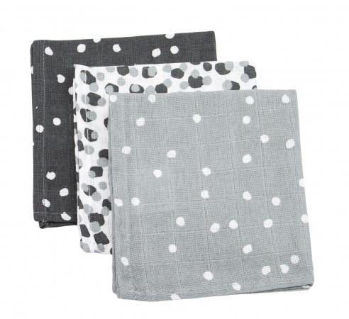 Briljant Monddoek Spots Iron 3-Pack