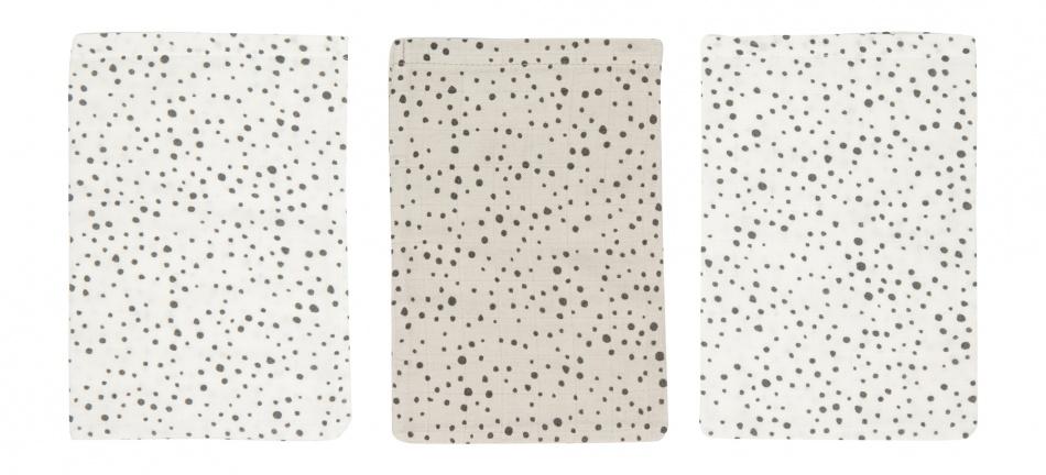 Bébé-Jou Washand Fabulous Dots 3-Pack