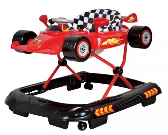Basicline  Loopstoel Formula 1 Red