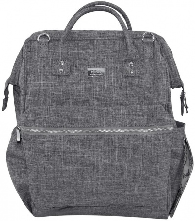 Isoki Backpack Byron Eliot Grey