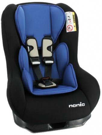 Nania Eco Maxim SP Shadow Black Inclusief Custo Insert Blue