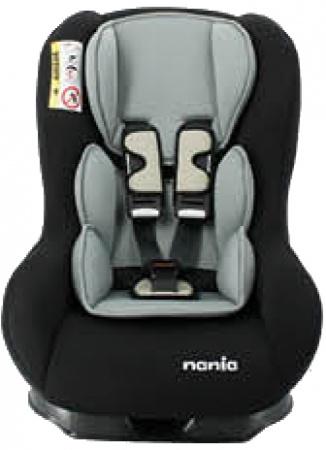Nania Eco Maxim SP Shadow Black Inclusief Custo Insert Smoke