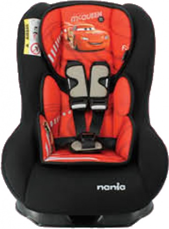 Nania Eco Maxim SP Shadow Black Inclusief Custo Insert Cars