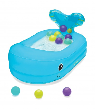 Infantino Inflatable Bath Whale
