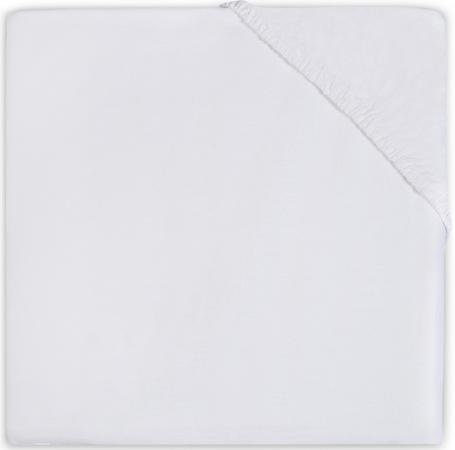 Babydump Collectie Wieghoeslaken Jersey Wit     40 x 80 cm