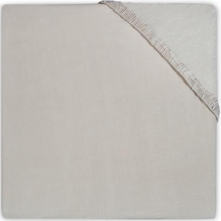 Babydump Collectie Wieghoeslaken Jersey Soft Grey    40 x 80 cm