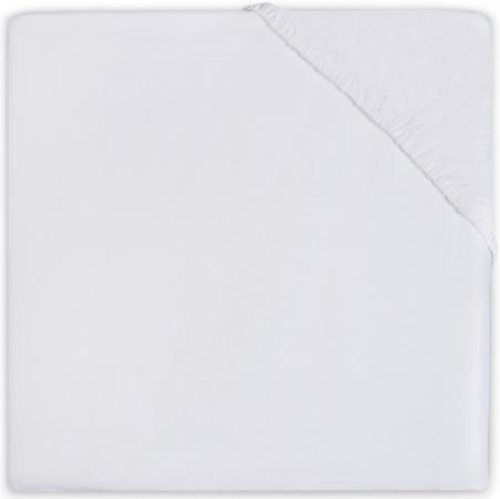 Babydump Collectie Juniorhoeslaken Jersey White 70 x 140/150 cm