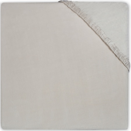 Babydump Collectie Juniorhoeslaken Jersey Soft Grey  70 x 140/150 cm