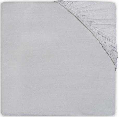 Babydump Collectie Juniorhoeslaken Katoen Soft Grey   70 x 140 cm