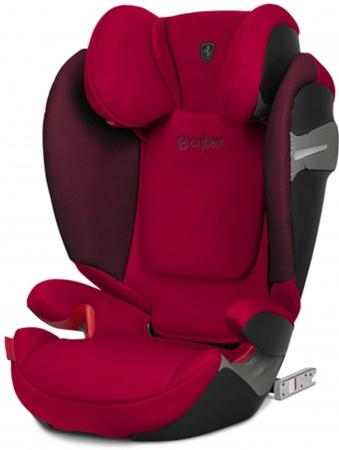 Cybex Solution S-Fix Scuderia Ferrari Racing Red/Red
