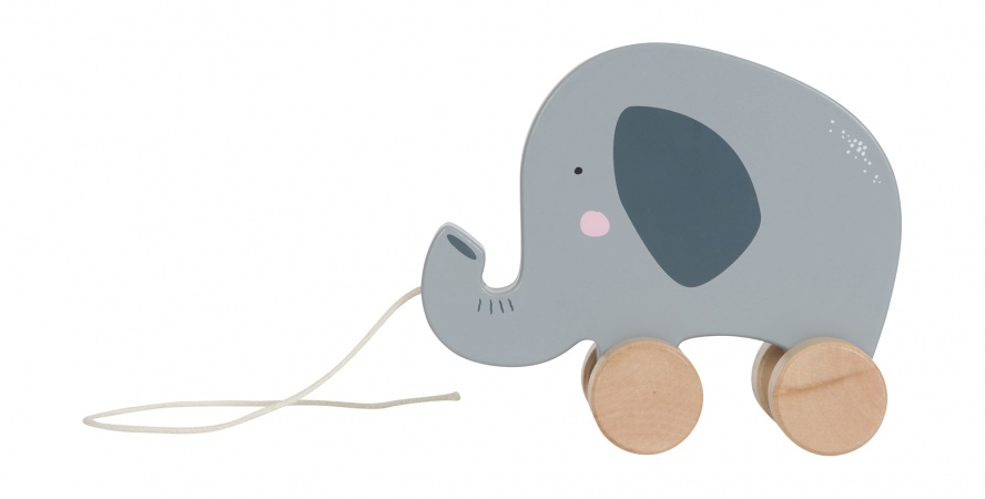 Little Dutch Houten Olifant Trekfiguur