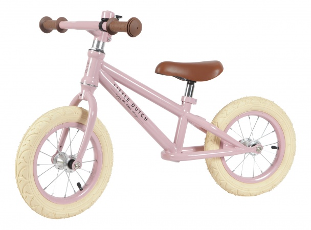Little Dutch Loopfietsje Roze