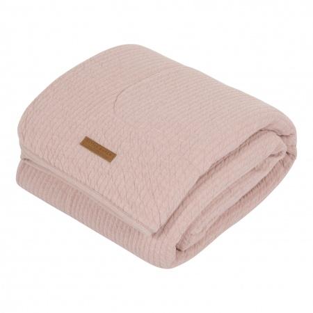Little Dutch Wiegdeken Pure Pink <br> 70 x 100 cm