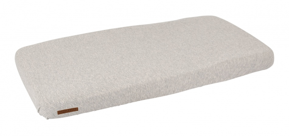 Little Dutch Ledikanthoeslaken Pure Grey<br> 60 x 120 cm