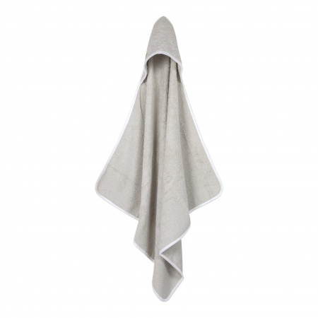 Little Dutch Badcape Pure Grey <br> 75 x 75 cm