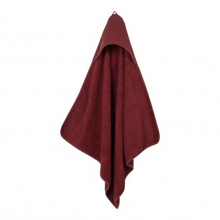 Little Dutch Badcape Pure Indian Red <br> 75 x 75 cm