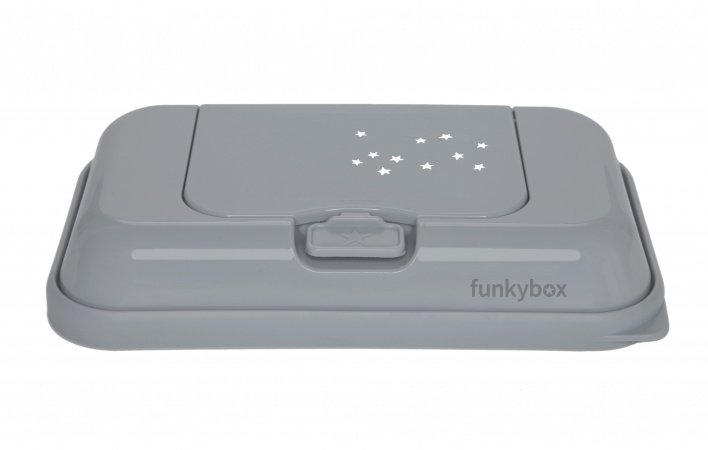 Funkybox To Go Clay Grey Little Stars