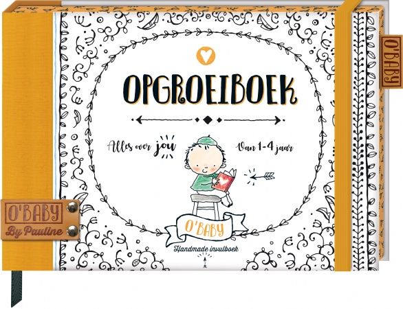 O'baby<br> Opgroeiboek
