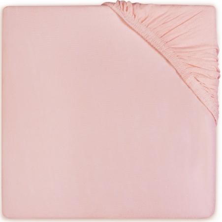 Babydump Collectie Ledikanthoeslaken Jersey Soft Pink 60 x 120 cm