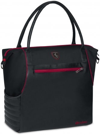 Cybex Priam Changing Bag Premium  Scuderia Ferrari Victory Black/Black