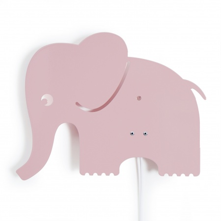 Roommate Wandlamp Elephant Roze