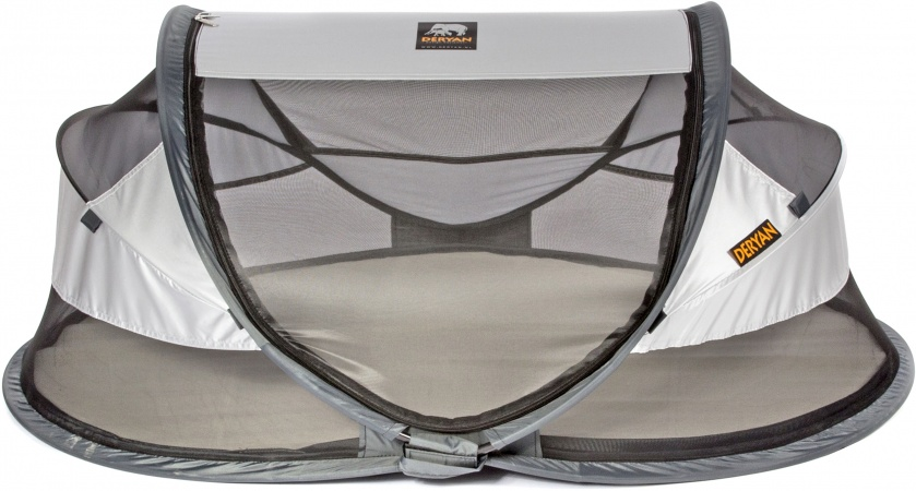 Deryan Travel-Cot Baby Luxe Silver 2020