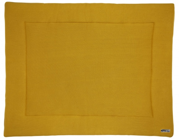 Meyco Boxkleed Knit Basic Okergeel<br> 77 x 97 cm
