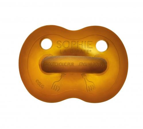 Sophie De Giraf Fopspeen So'Pure Rubber 6-18mnd