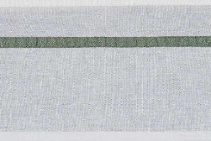 Meyco Ledikantlaken Bies Forest Green<br> 100 x 150 cm