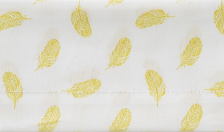 Cottonbaby Ledikantlaken Veren Oker<br/ > 120 x 150 cm