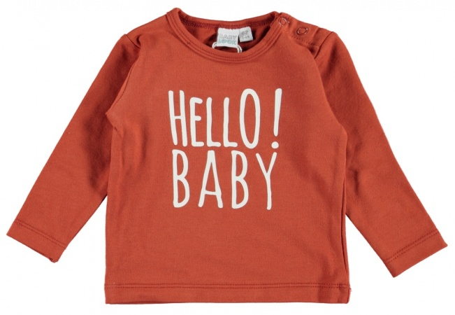 Babylook T-Shirt Hello Clay