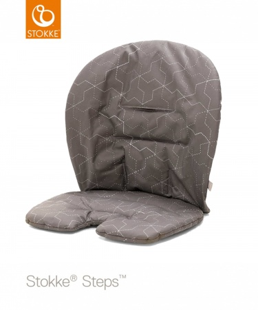 Stokke® Steps™ Baby Cushion Geometric Grey