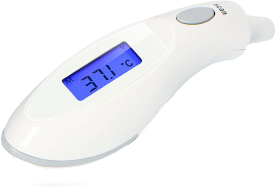 Alecto Thermometer Oor Infrarood BC-27