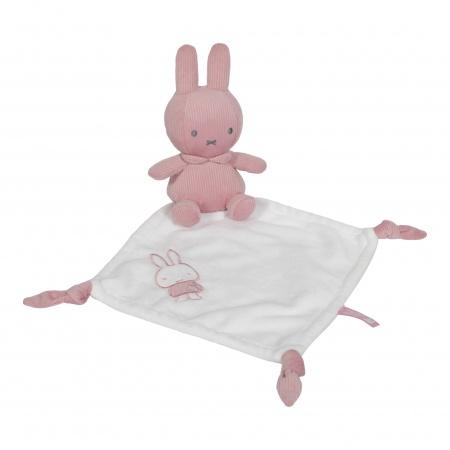Tiamo Nijntje Rib Roze Knuffeldoekje