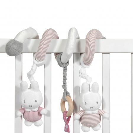 Tiamo Nijntje Rib Roze Boxspiraal | Speelgoed en Cadeaus