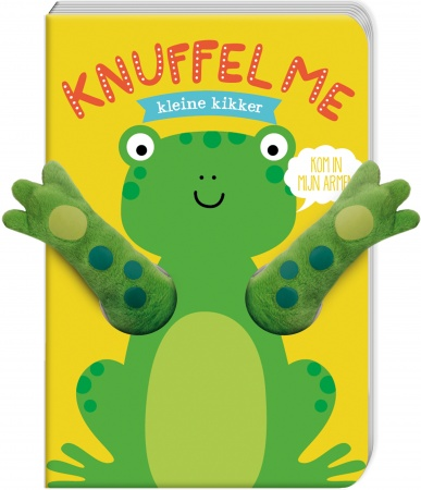 Imagebooks<br> Knuffel Me Kleine Kikker
