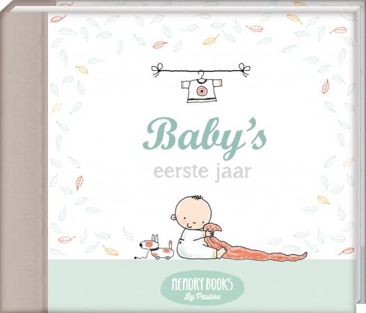 Pauline Oud<br> Memorybook Baby's Eerste Jaar