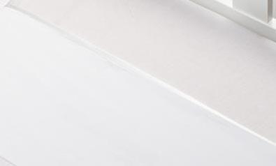 Briljant Wieglaken Bies Wit<br/ > 75 x 100 cm