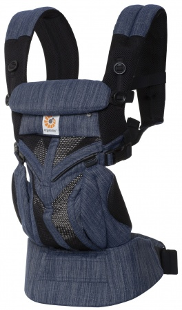 Ergobaby 360° Carrier Omni  Cool Air Mesh Indigo Weave