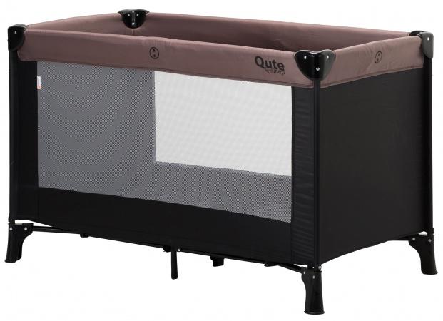 Qute Campingbed Q-sleep Bruin/Zwart