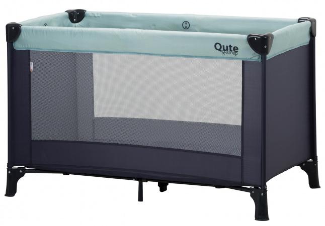Qute Campingbed Q-sleep Mint/Antra
