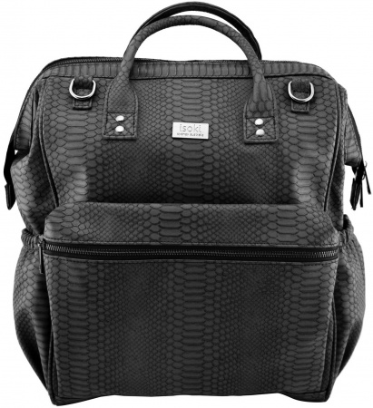 Isoki Backpack Byron Black Mumba