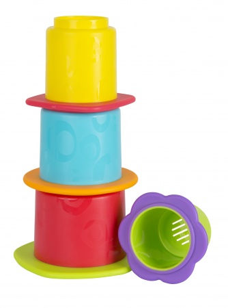 Playgro Chewy Stack And Nest Cups