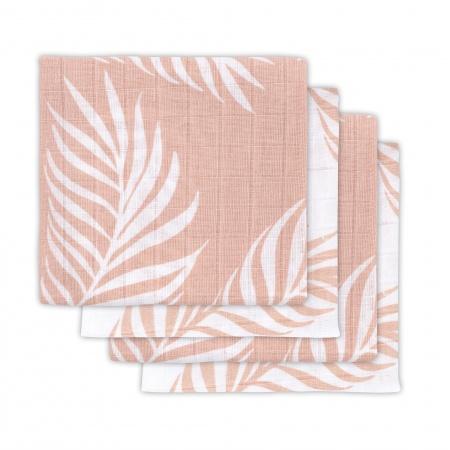Jollein Hydrofiele Multidoek Small 70x70 Nature Pale Pink 4pck