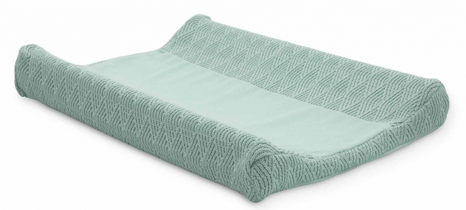 Jollein Aankleedkussenhoes River Knit Ash Green