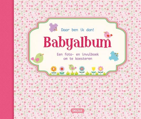 Deltas Daar Ben Ik Dan! Babyalbum Roze