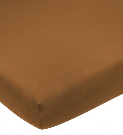 Meyco Hoeslaken Jersey Camel <br/ >40 x 80/90 cm
