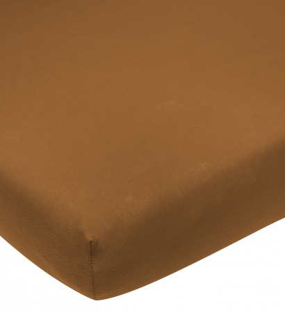 Meyco Juniorhoeslaken Jersey Camel <br/ >70 x 140/150 cm