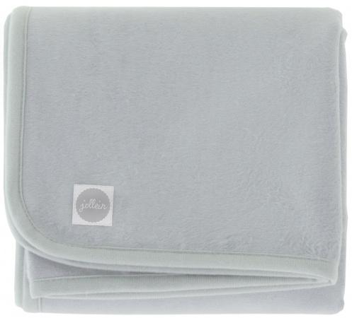Jollein Ledikantdeken Soft Grey <br> 100 x 150 cm