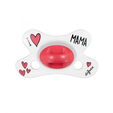 Difrax Fopspeen I Love Mama Natural 0-6 mnd